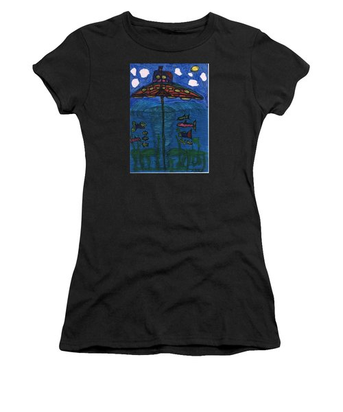 In Search Of Life Women's T-Shirt (Athletic Fit)