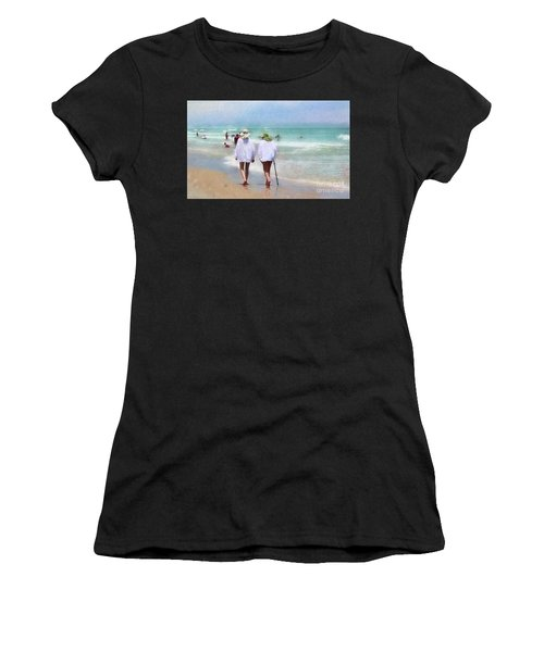 In Step With Life Women's T-Shirt (Athletic Fit)