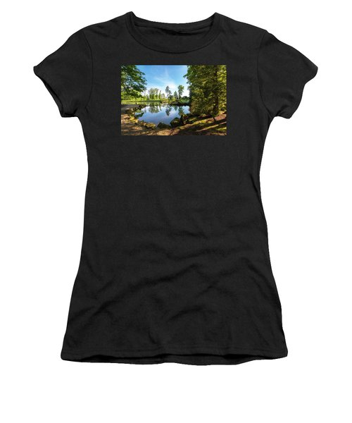 Women's T-Shirt (Junior Cut) featuring the photograph In The Early Morning Light by Tom Mc Nemar