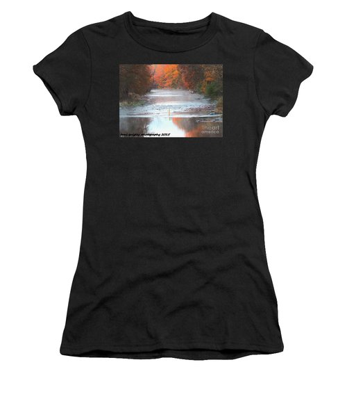 In The Early Morning Mist Women's T-Shirt