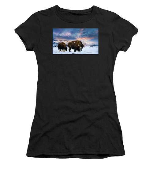In The Grips Of Winter Women's T-Shirt