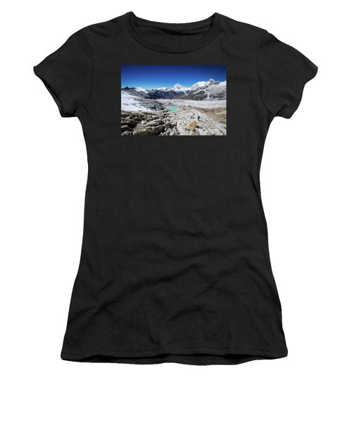 In The Middle Of The Cordillera Blanca Women's T-Shirt (Athletic Fit)