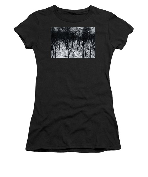 In The Woods 7 Women's T-Shirt (Athletic Fit)