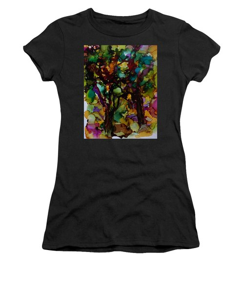In The Woods Women's T-Shirt (Athletic Fit)