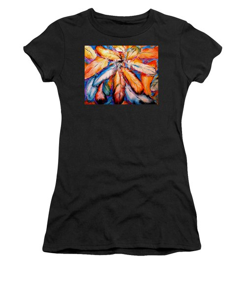 Indian Feathers 2006 Women's T-Shirt