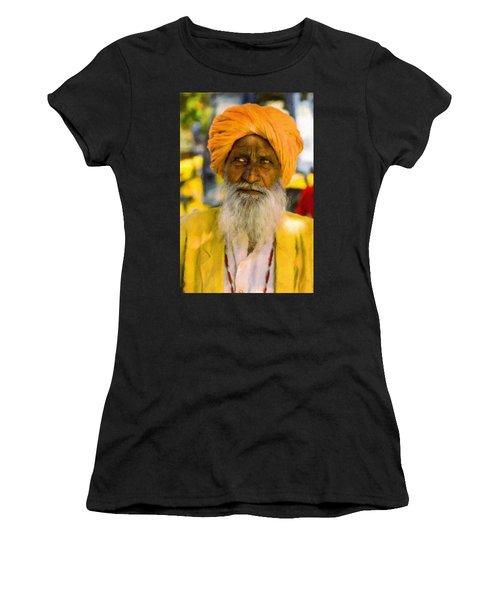 Indian Old Man Women's T-Shirt