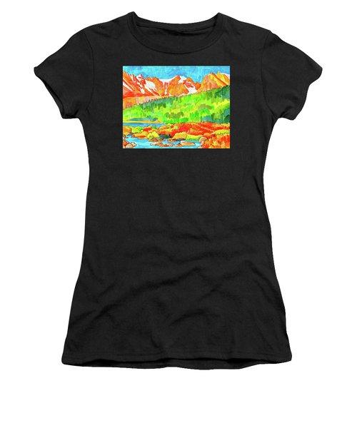 Indian Peaks Wilderness Women's T-Shirt