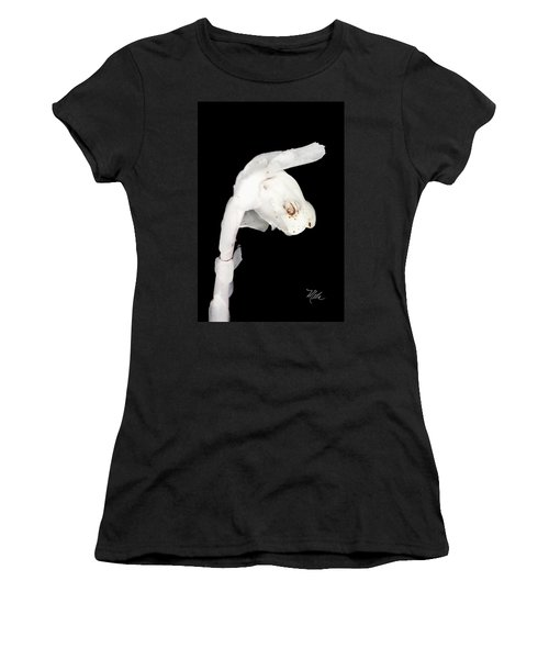 Indian Pipe Flower Women's T-Shirt (Athletic Fit)