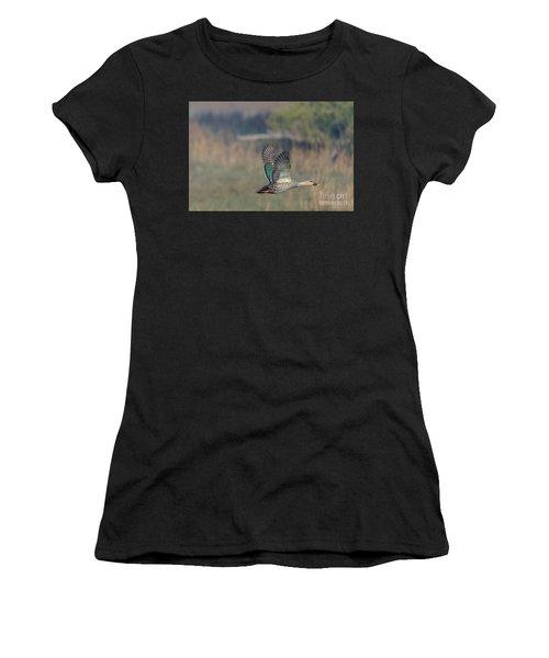 Indian Spot-billed Duck 03 Women's T-Shirt
