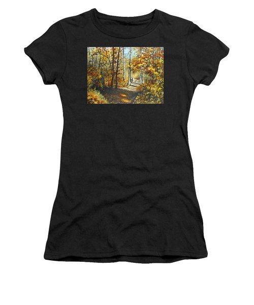 Indian Summer Trail Women's T-Shirt