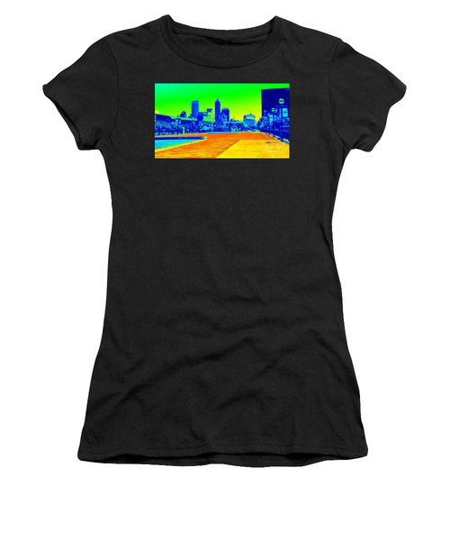 Indianapolis Heat Tone Women's T-Shirt (Athletic Fit)