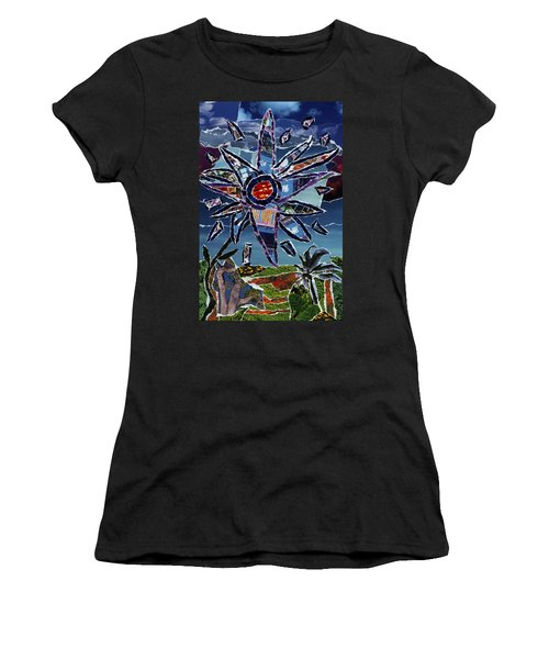 Industrial Flower Women's T-Shirt