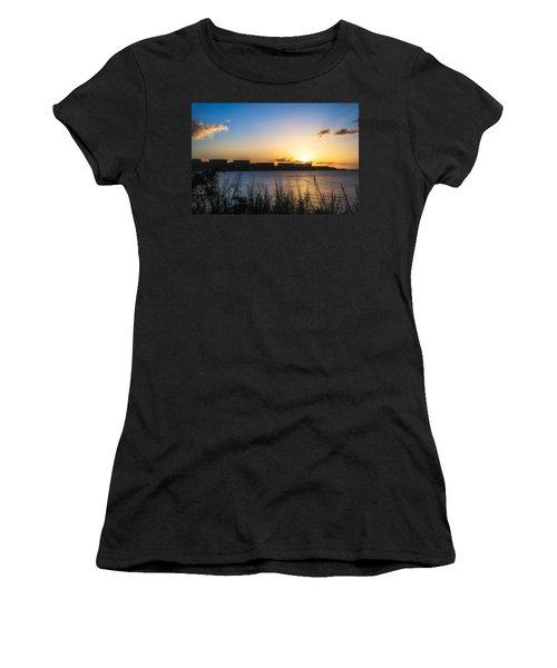 Industrial Sunset Women's T-Shirt