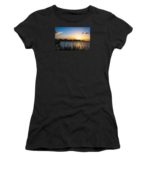 Industrial Sunset Women's T-Shirt