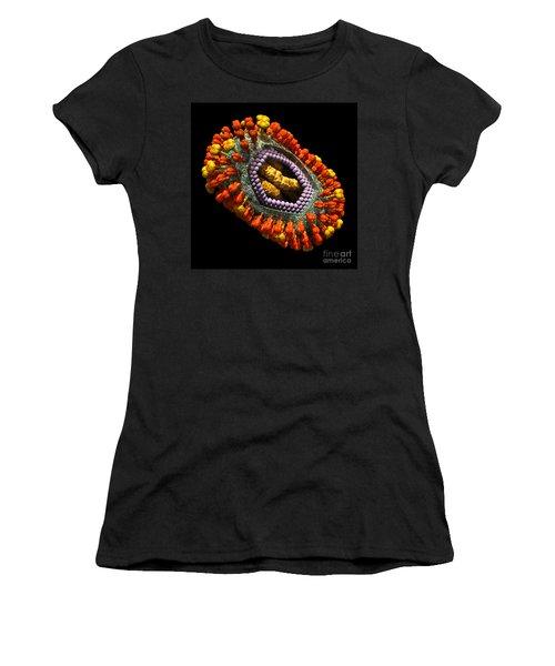Influenza Virus Cutaway 5 Women's T-Shirt