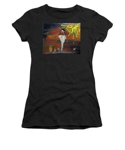 Inicios Women's T-Shirt (Athletic Fit)