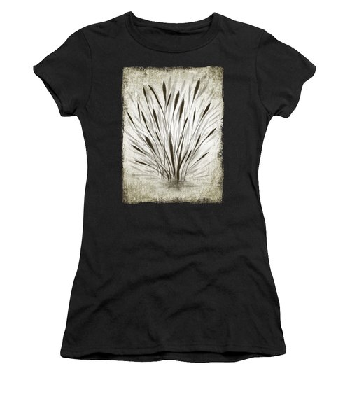 Women's T-Shirt featuring the drawing Ink Grass by Ivana Westin