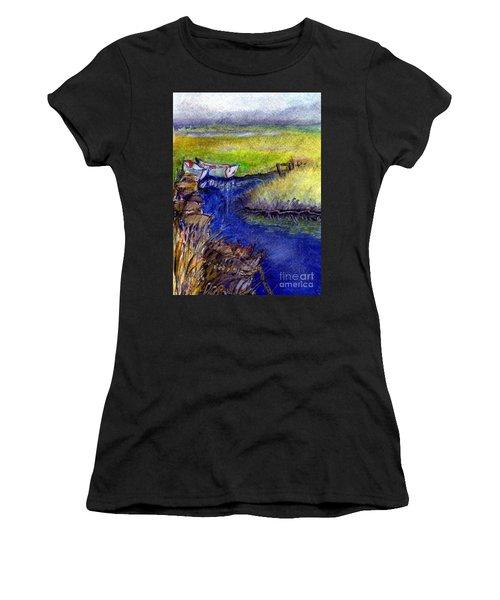John Boat Creek Women's T-Shirt