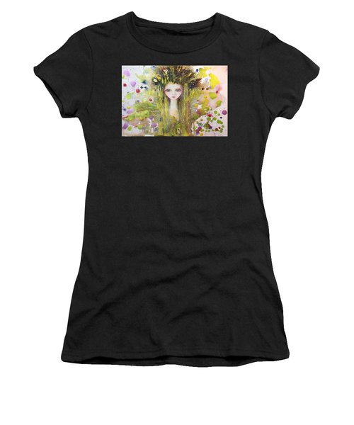 Inner Peace Women's T-Shirt (Athletic Fit)