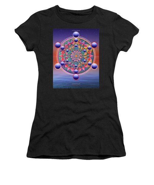 Inner Space Women's T-Shirt (Athletic Fit)