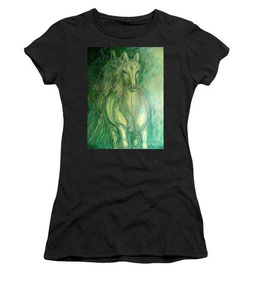 Inner Spirit Women's T-Shirt (Athletic Fit)