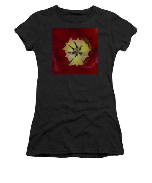 Inside A Tulip 2 Women's T-Shirt