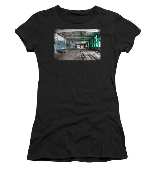 Inside Detroit Packard Plant  Women's T-Shirt