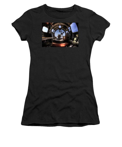 Inside The Flying Fortress Women's T-Shirt (Athletic Fit)