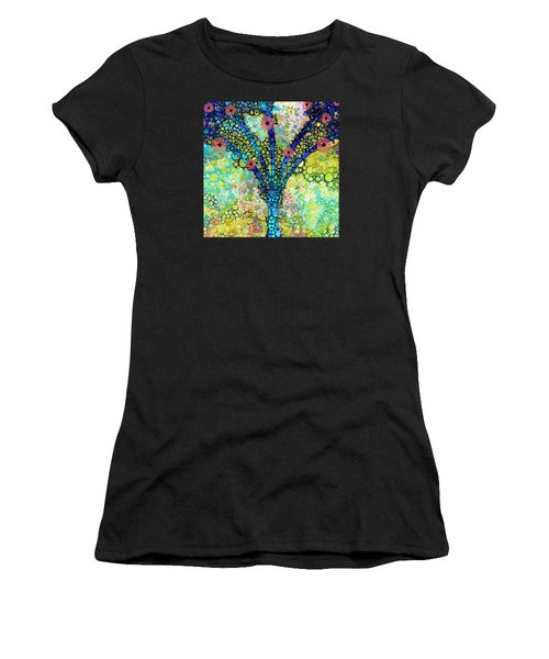 Inspirational Art - Absolute Joy - Sharon Cummings Women's T-Shirt (Athletic Fit)