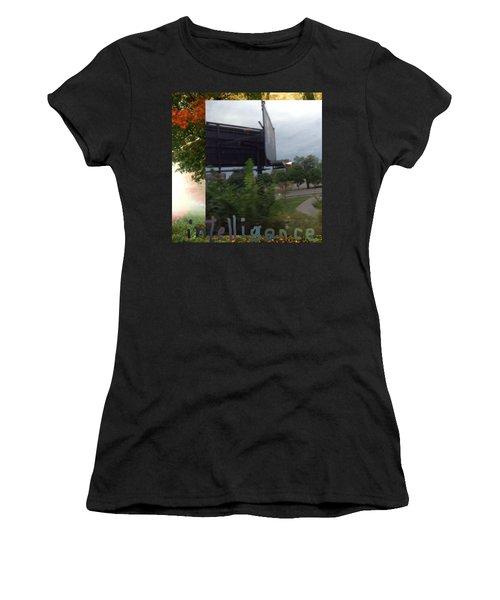 Intelligence Women's T-Shirt (Athletic Fit)