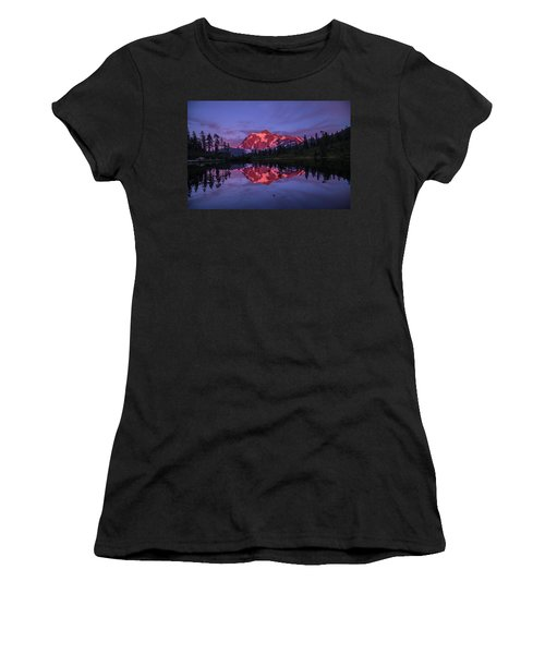 Intense Reflection Women's T-Shirt (Athletic Fit)