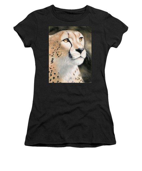 Intensity - Cheetah Women's T-Shirt (Athletic Fit)