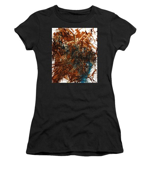 Intensive Abstract Expressionism Series 46.0710 Women's T-Shirt (Athletic Fit)