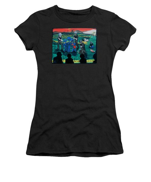 Intergalactic Misunderstanding Women's T-Shirt (Athletic Fit)