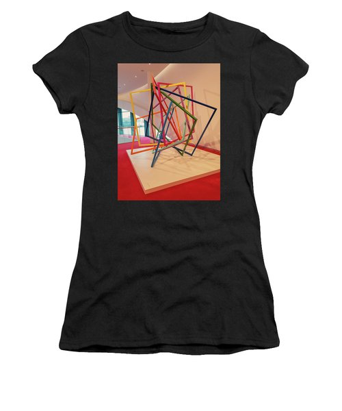 Interior Of Musical Theater Hamburg Women's T-Shirt