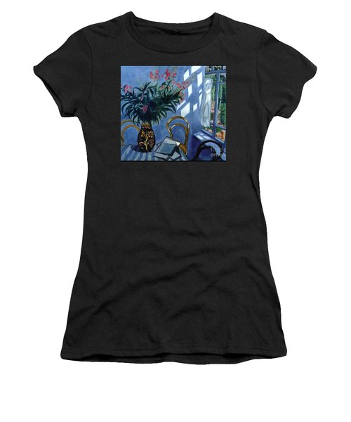 Interior With Flowers Women's T-Shirt (Athletic Fit)
