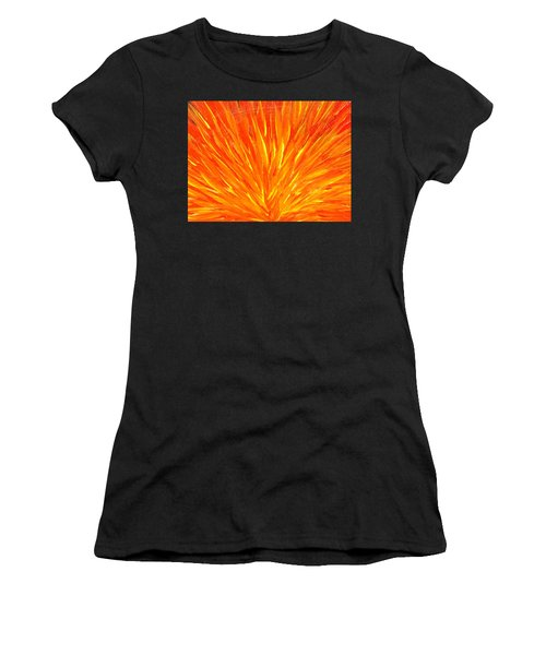 Into The Fire Women's T-Shirt (Athletic Fit)
