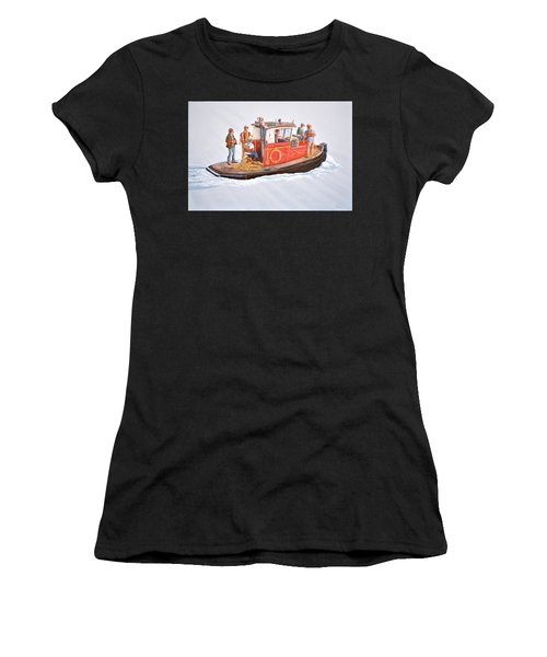 Into The Mist-the Crew Boat Women's T-Shirt