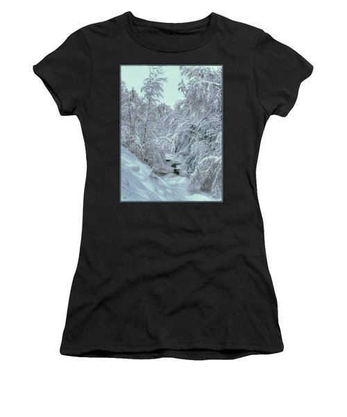 Women's T-Shirt featuring the photograph Into White by Wayne King