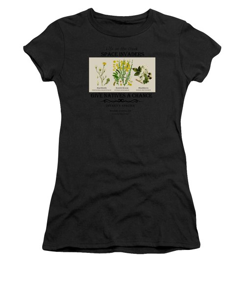 Invasive Species Nevada County, California Women's T-Shirt (Athletic Fit)