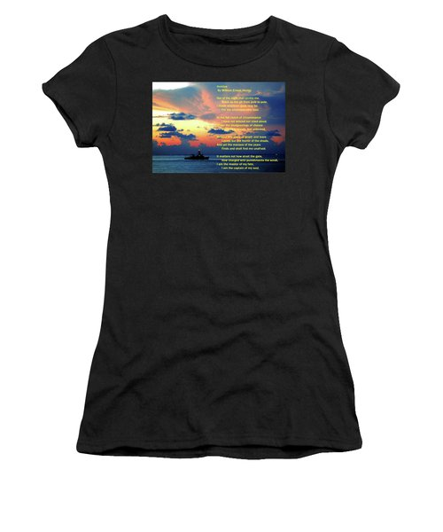 Invictus By William Ernest Henley Women's T-Shirt