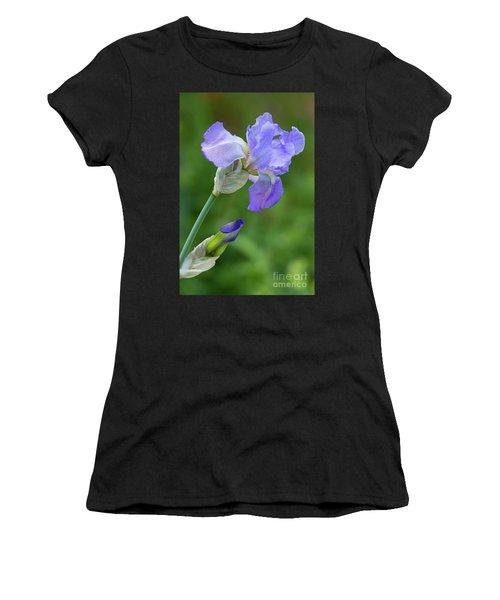 Iris Blue Women's T-Shirt