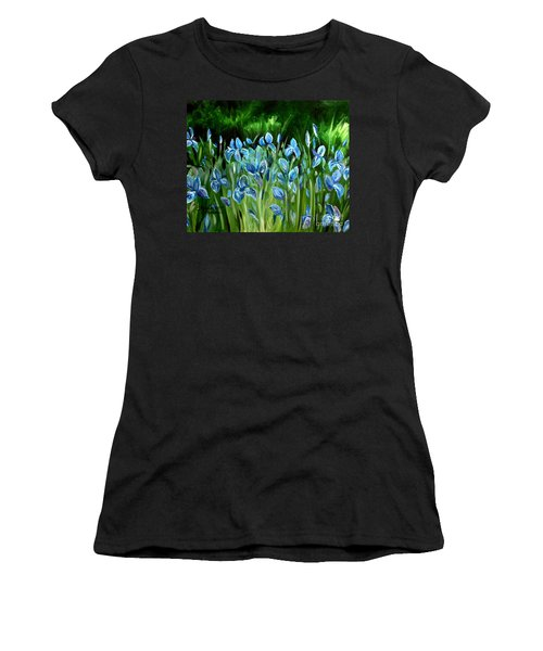 Iris Galore Women's T-Shirt (Athletic Fit)