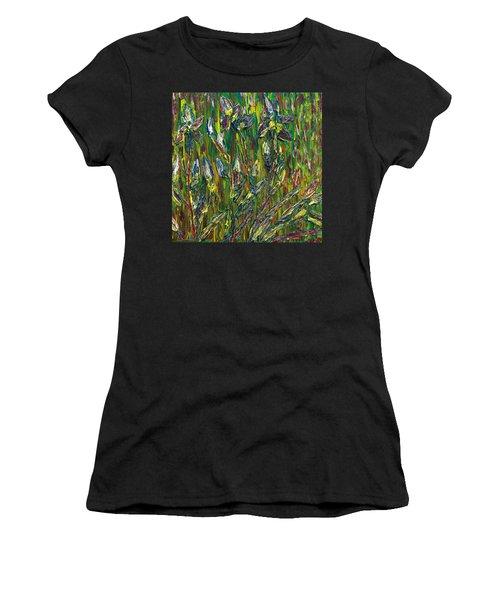 Irises Dance Women's T-Shirt (Athletic Fit)