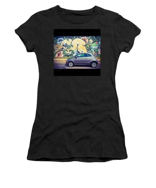 Is It Safe To Drive Mr. #fiat Into The Women's T-Shirt