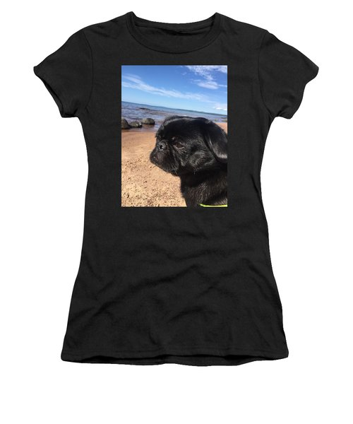 Is This My Good Side? Women's T-Shirt (Athletic Fit)