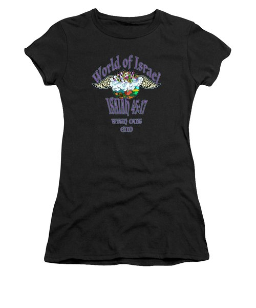 Isaiah 45 Verse 17 Women's T-Shirt (Athletic Fit)