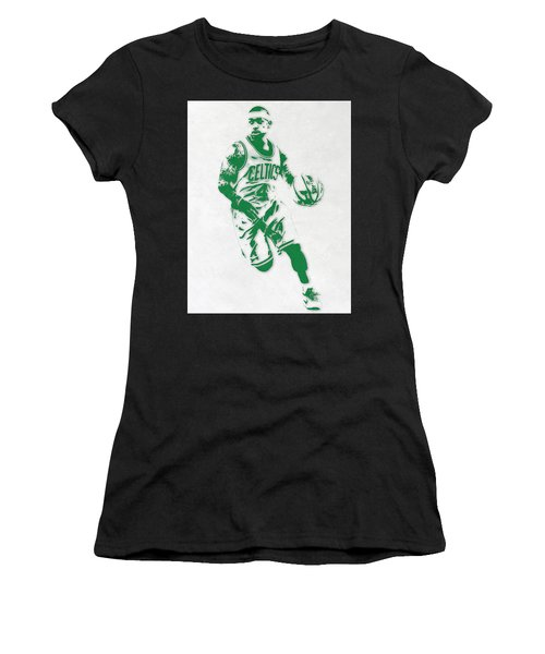 Isaiah Thomas Boston Celtics Pixel Art 2 Women's T-Shirt