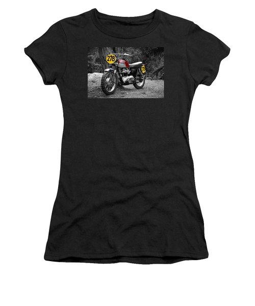 Isdt Triumph Steve Mcqueen Women's T-Shirt