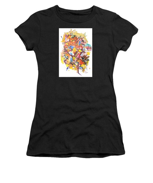 Island In A Sea Of Lightness Women's T-Shirt (Athletic Fit)